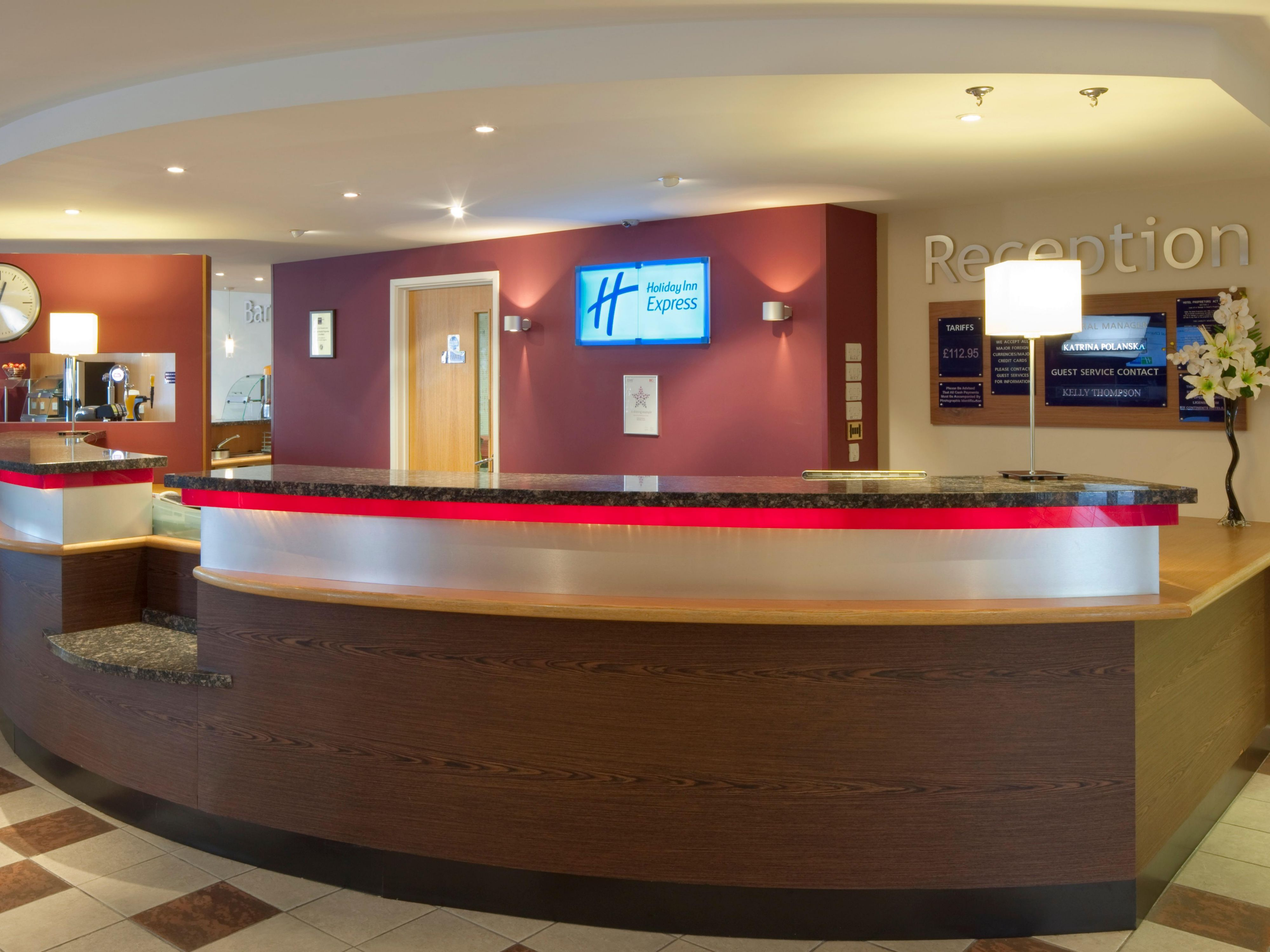 Image result for holiday inn express lobby