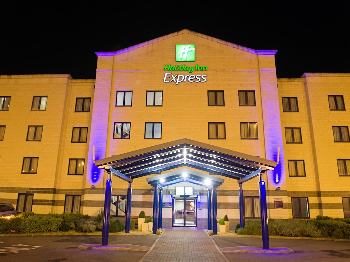 Night View of Holiday Inn Express Poole