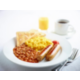 Hot Favourites of Sausages, Beans and Scrambled Egg