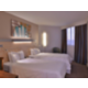 Twin bedroom with a choice of soft and firm pillows