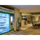 Make use of our convenient vending machines for snacks and medical