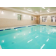 Enjoy our year round heated indoor swimming pool