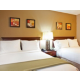 Comfort Inn the bed