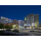 Holiday Inn Express Salt Lake City Downtown at night