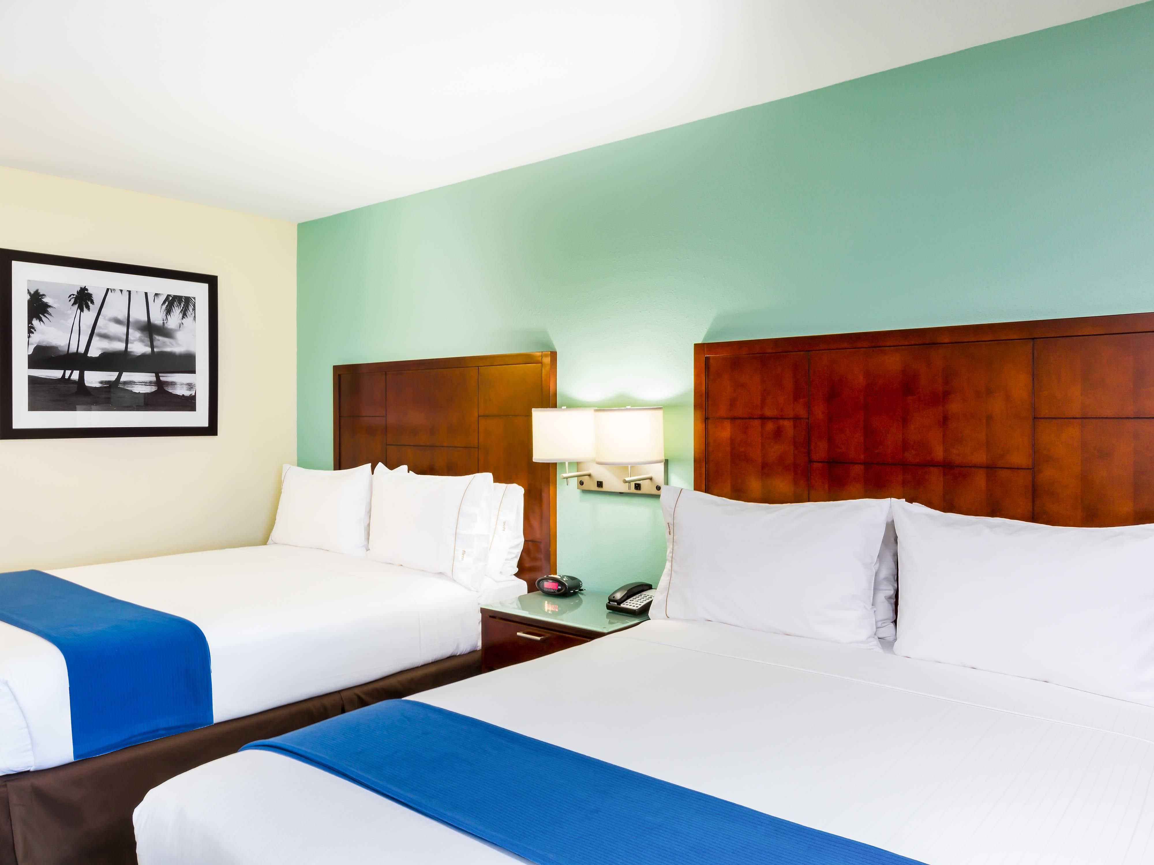 Double Bed Guest Rooms are ideal for family or business travelers.