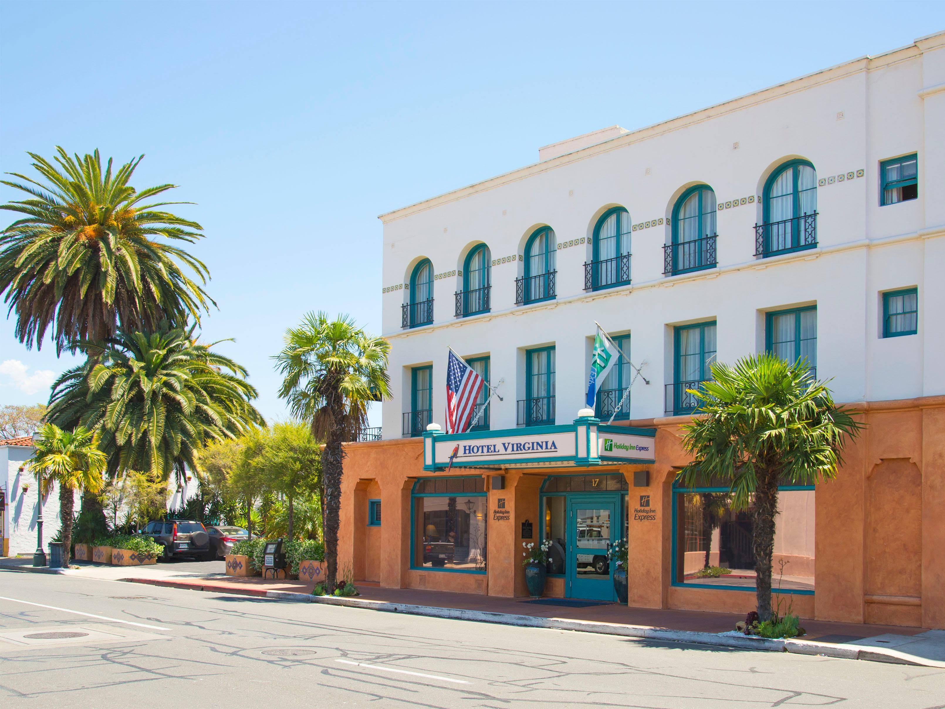We're steps from Santa Barbara's famed State St.. Convenient!
