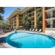 Enjoy the beautiful Monterey weather pool-side