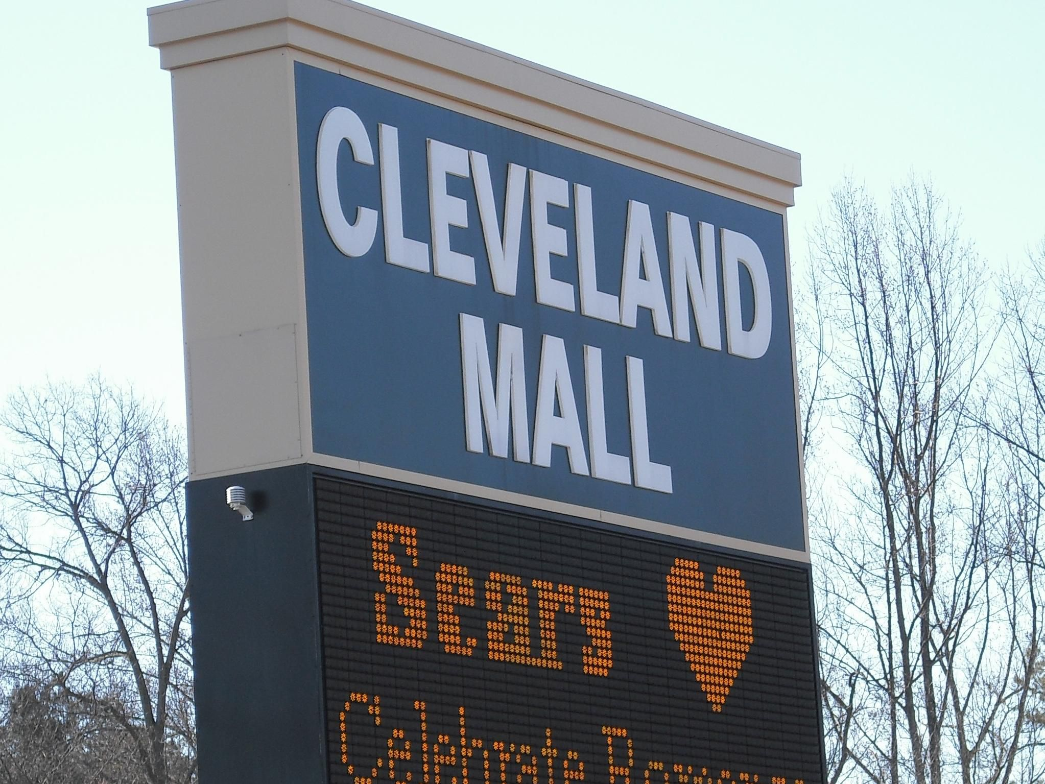 Cleveland Mall is adjacent to the hotel!