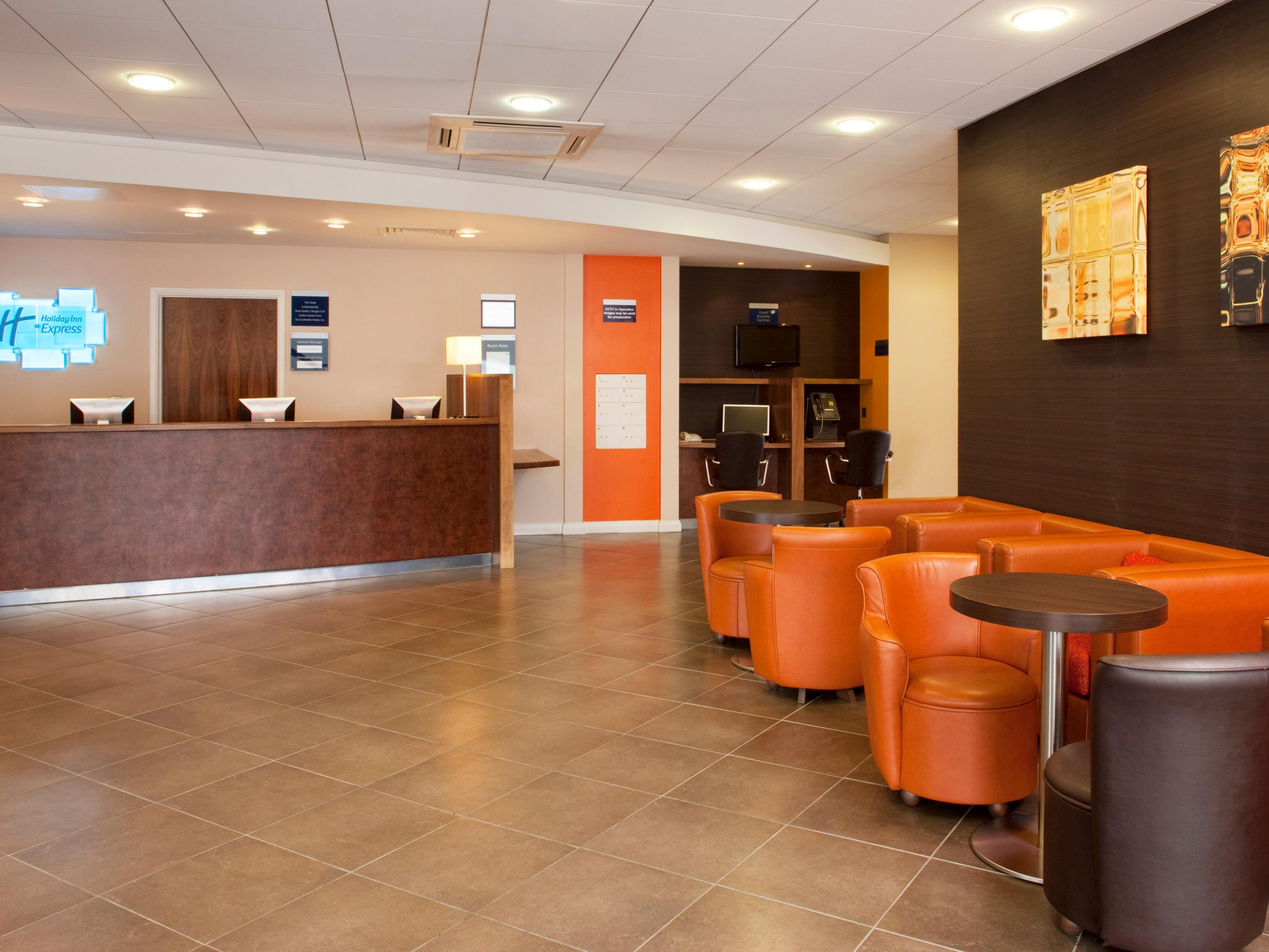 Welcome to the Holiday Inn Express Slough