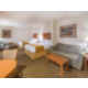 ADA/Handicapped accessible Two Queen Suite with living area