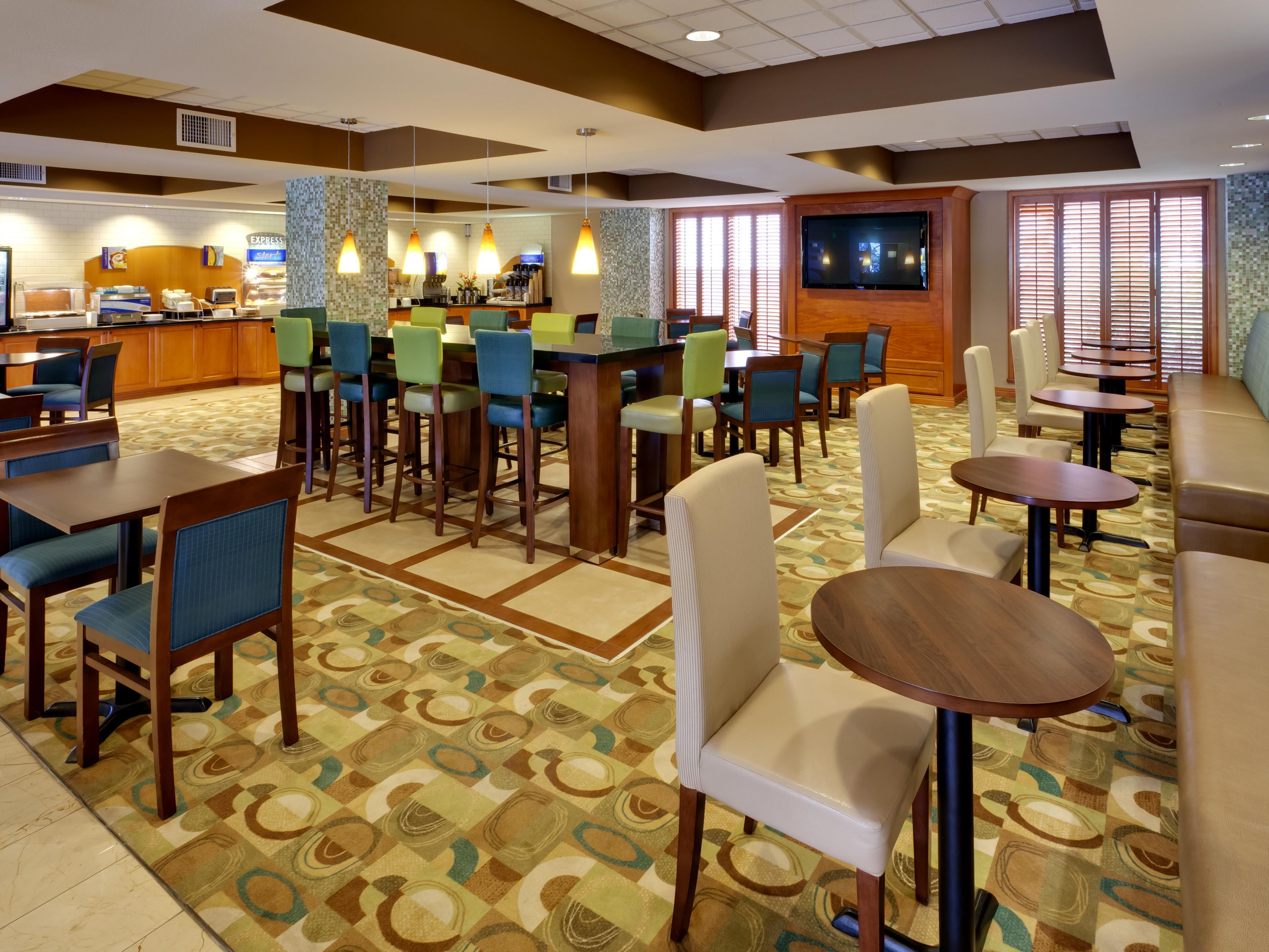 San Francisco Airport Hotel - Breakfast Area