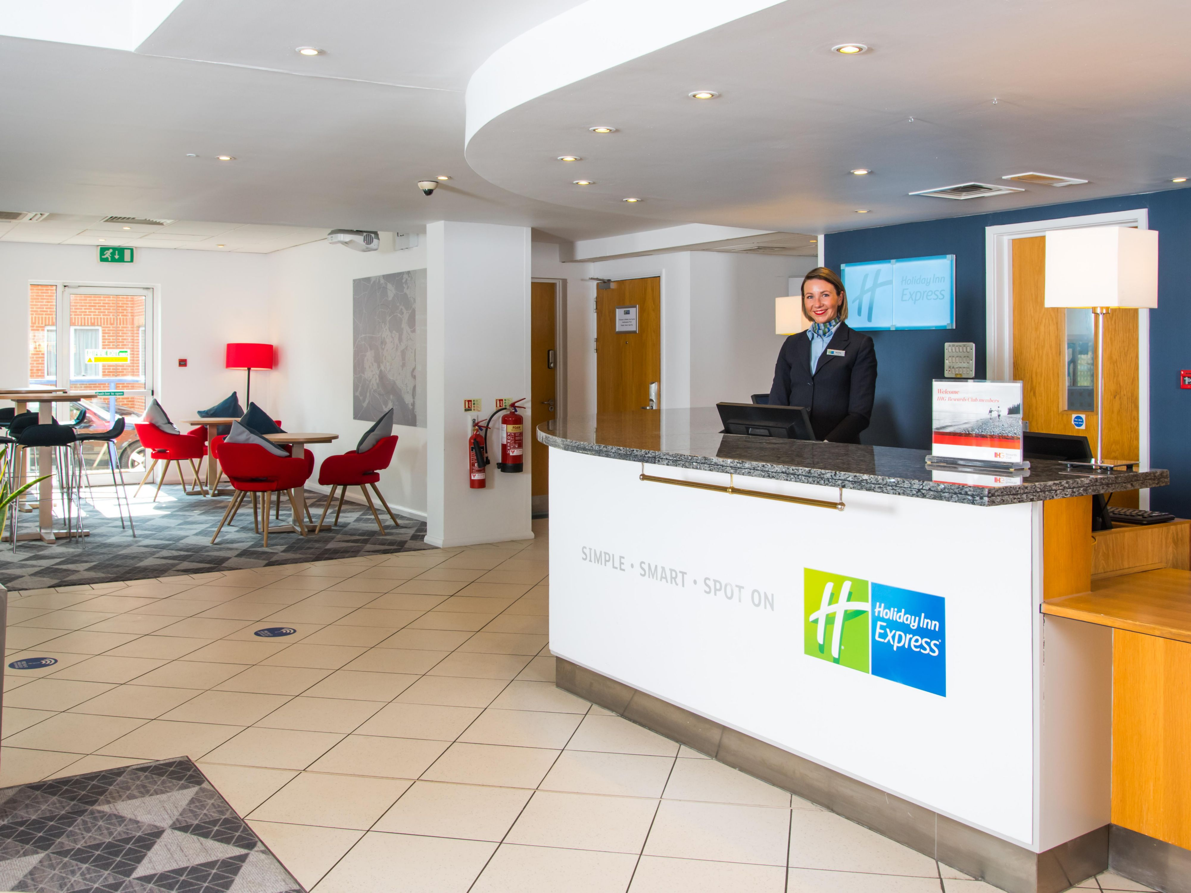 Speak to one of our Reception team about the IHG Rewards Club now!
