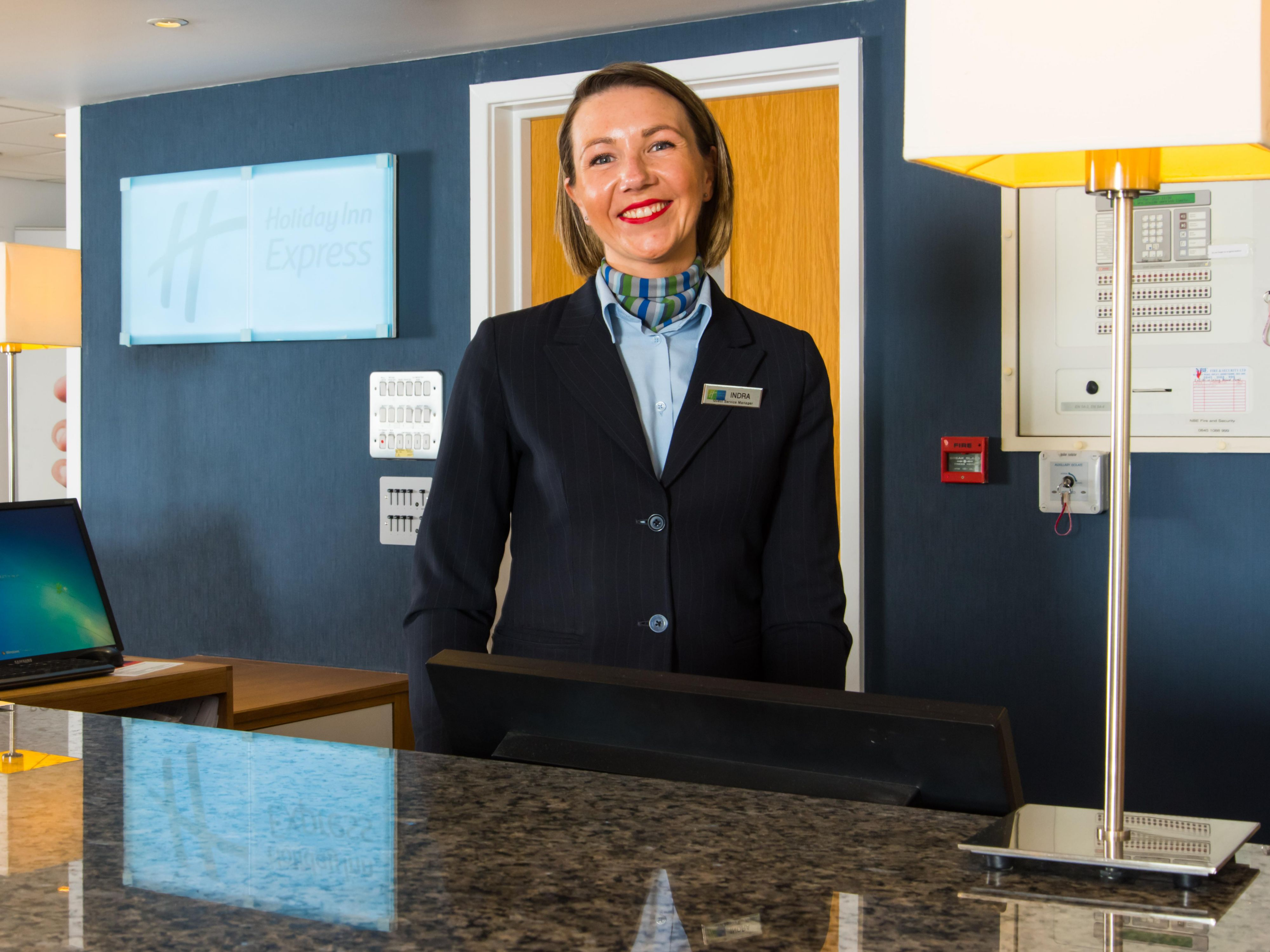 We're always happy to help! Our front desk is manned 24/7