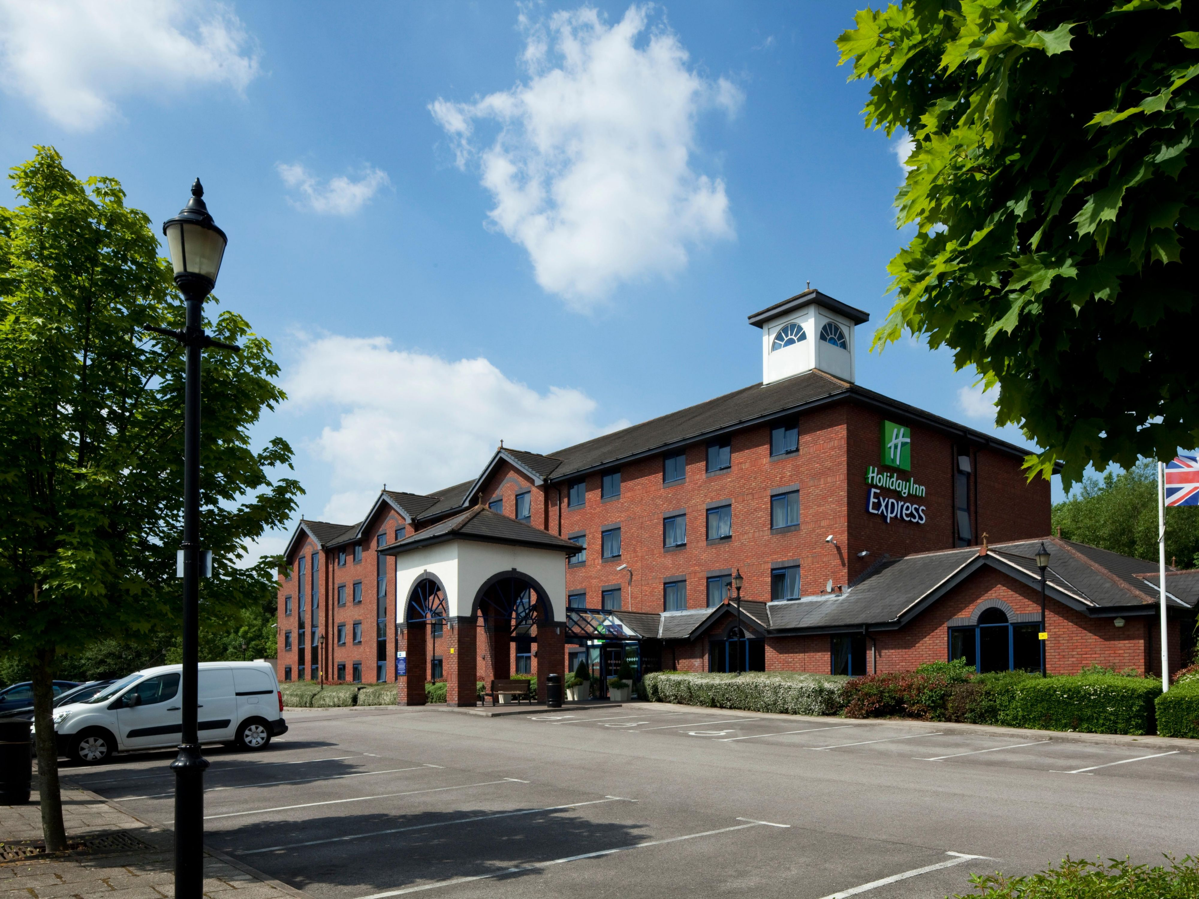 Our hotel is located just off Junction 13 of the M6