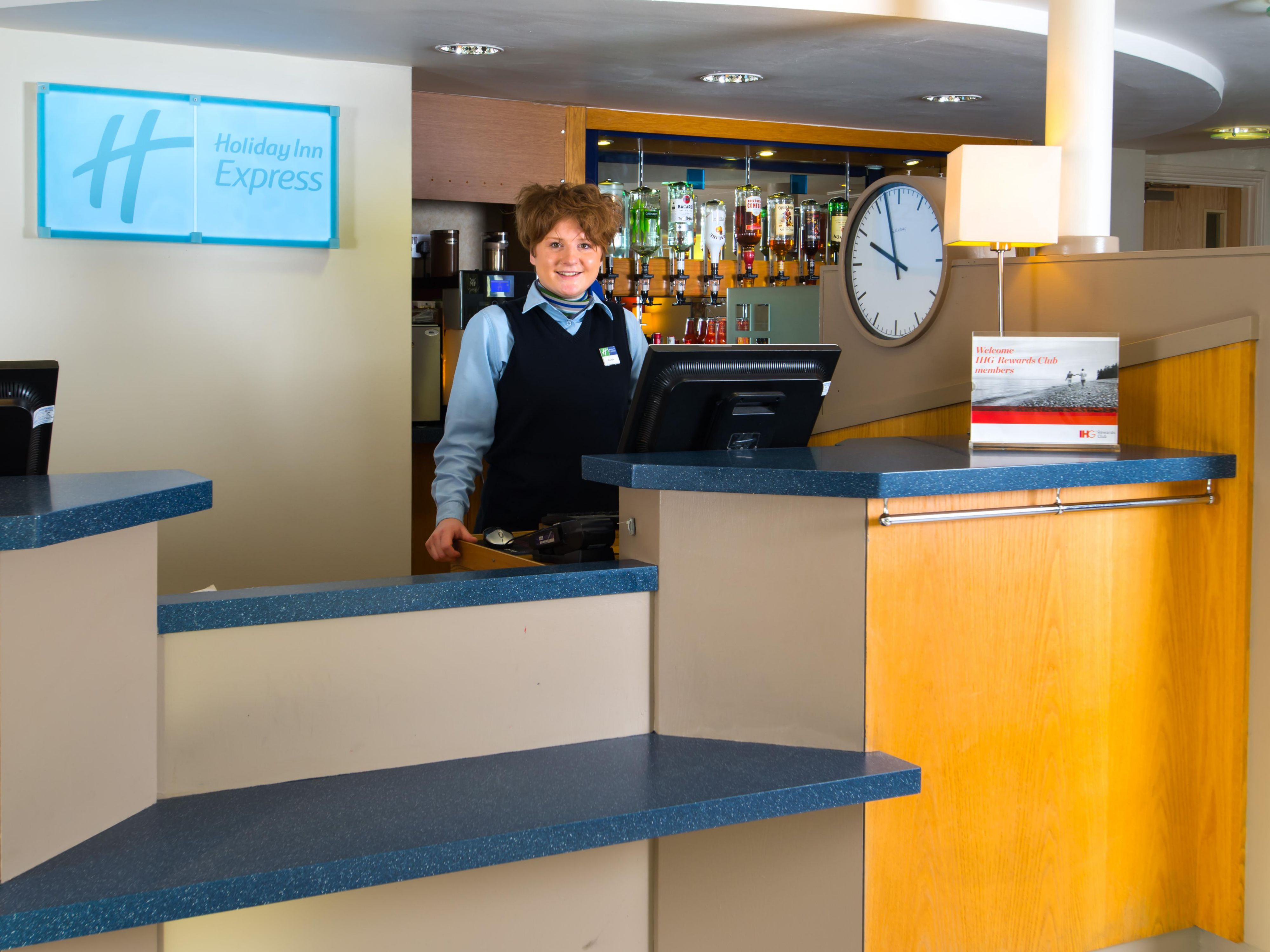 Our friendly Reception team are here for anything you need