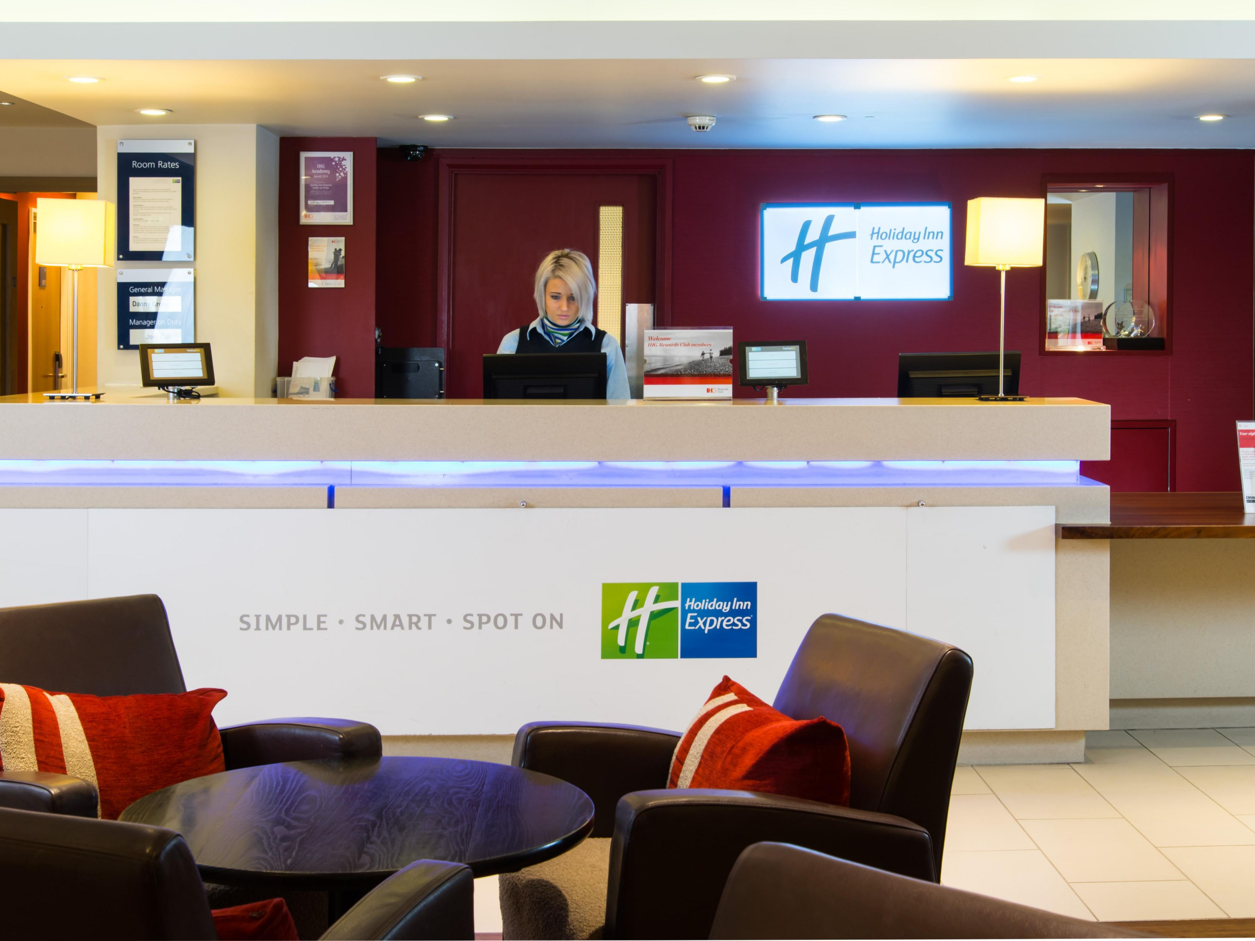 Our Reception staff are always on hand for your convenience