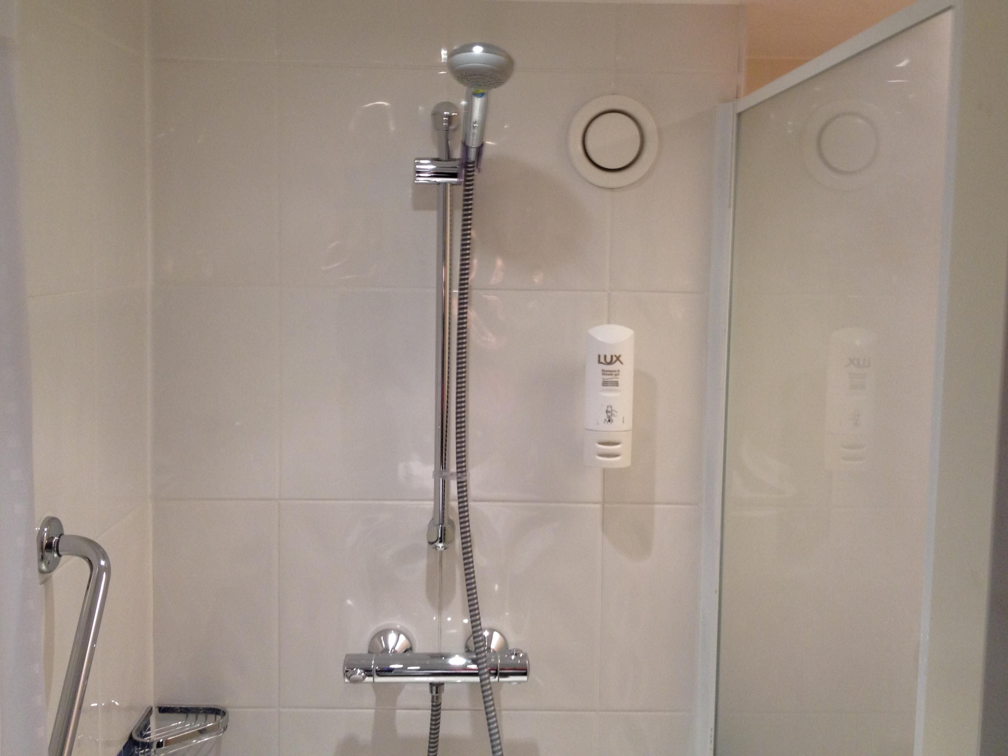 All standard guest rooms feature a shower