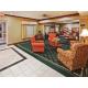 Hotel Lobby Seating Area