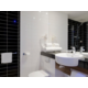 All rooms offer a spacious bathroom with walk-in shower