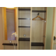 Wardrobe with door
