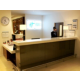 Brightly Lit and inviting reception desk