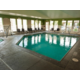 Take a dip in the heated pool