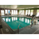 Go for a swim in the heated indoor pool