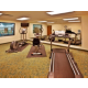 Workout in our spacious fitness center.