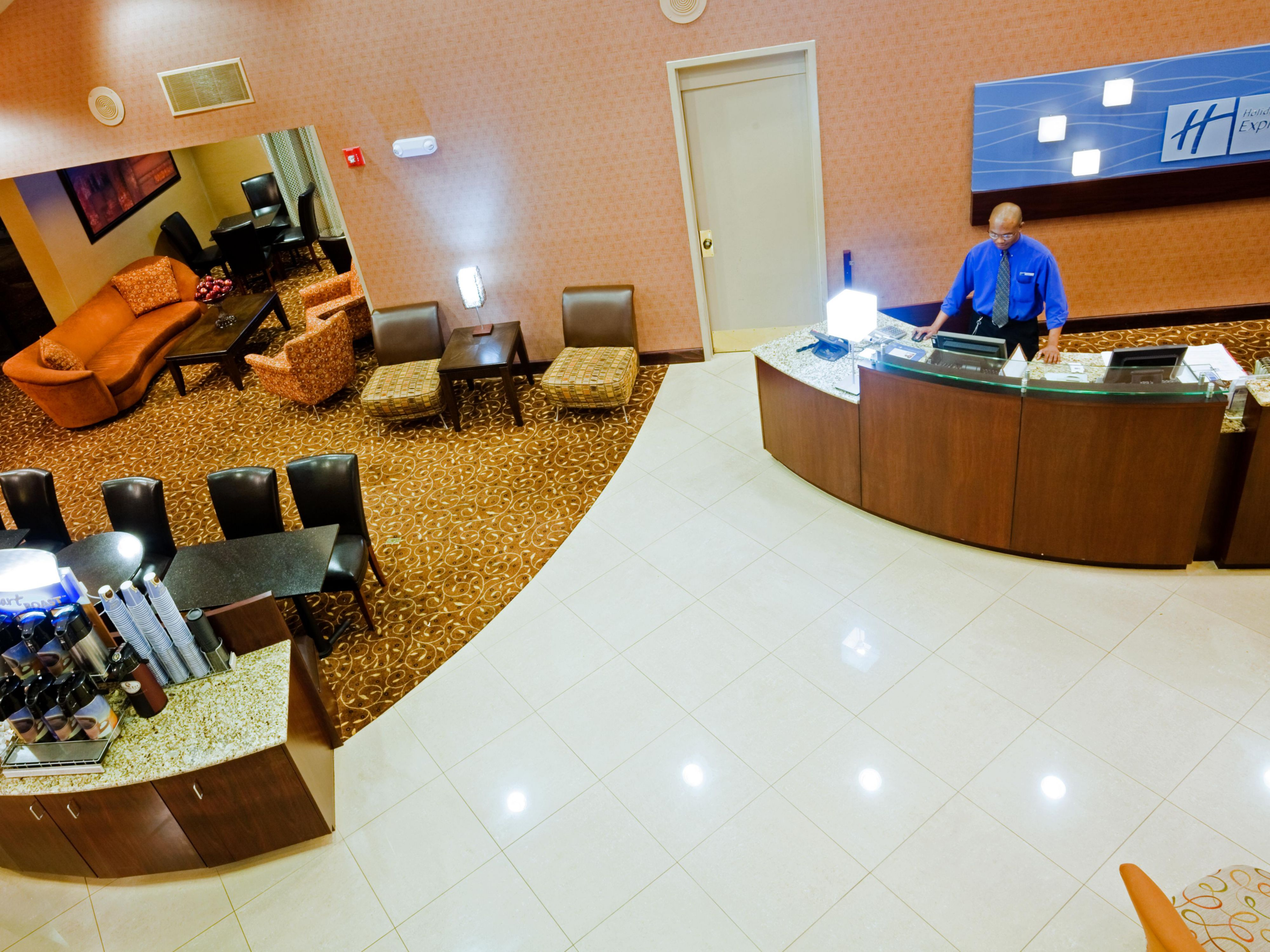 Front Desk staff to assist with our complimentary business center