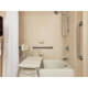 ADA/Handicapped Guest Bathroom with Transfer Tub