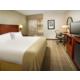 King Bed Guest Rooms enjoy free WiFi plus mini-fridge & Keurig