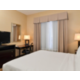 Sacramento Airport Holiday Inn Express WoodlandKing Bed Guest Room