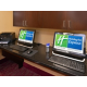 Two Guest Workstations in our Hotel Business Center