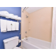 Clean and Comfortable Guestroom Bath
