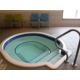 Relax in our indoor hot tub