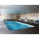 Relax by our indoor heated pool