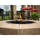 Guest Patio with firepits is a great place to rest and relax.