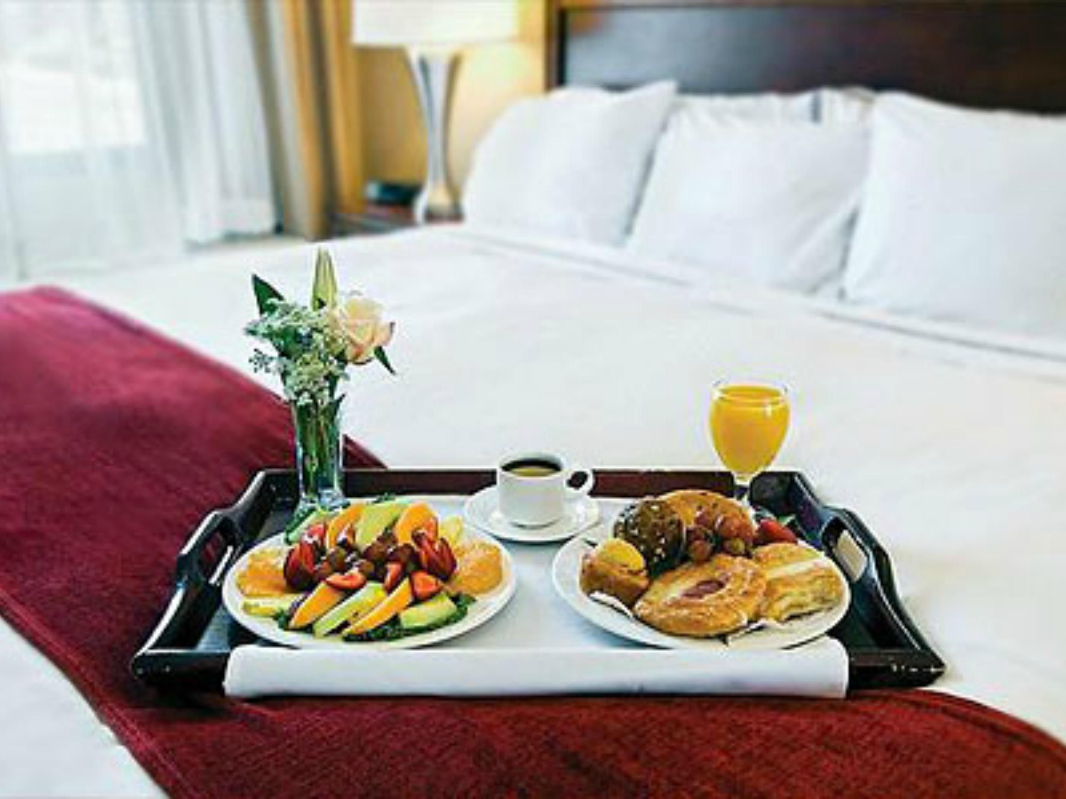 Room Service is available from 6:30am to 10pm.