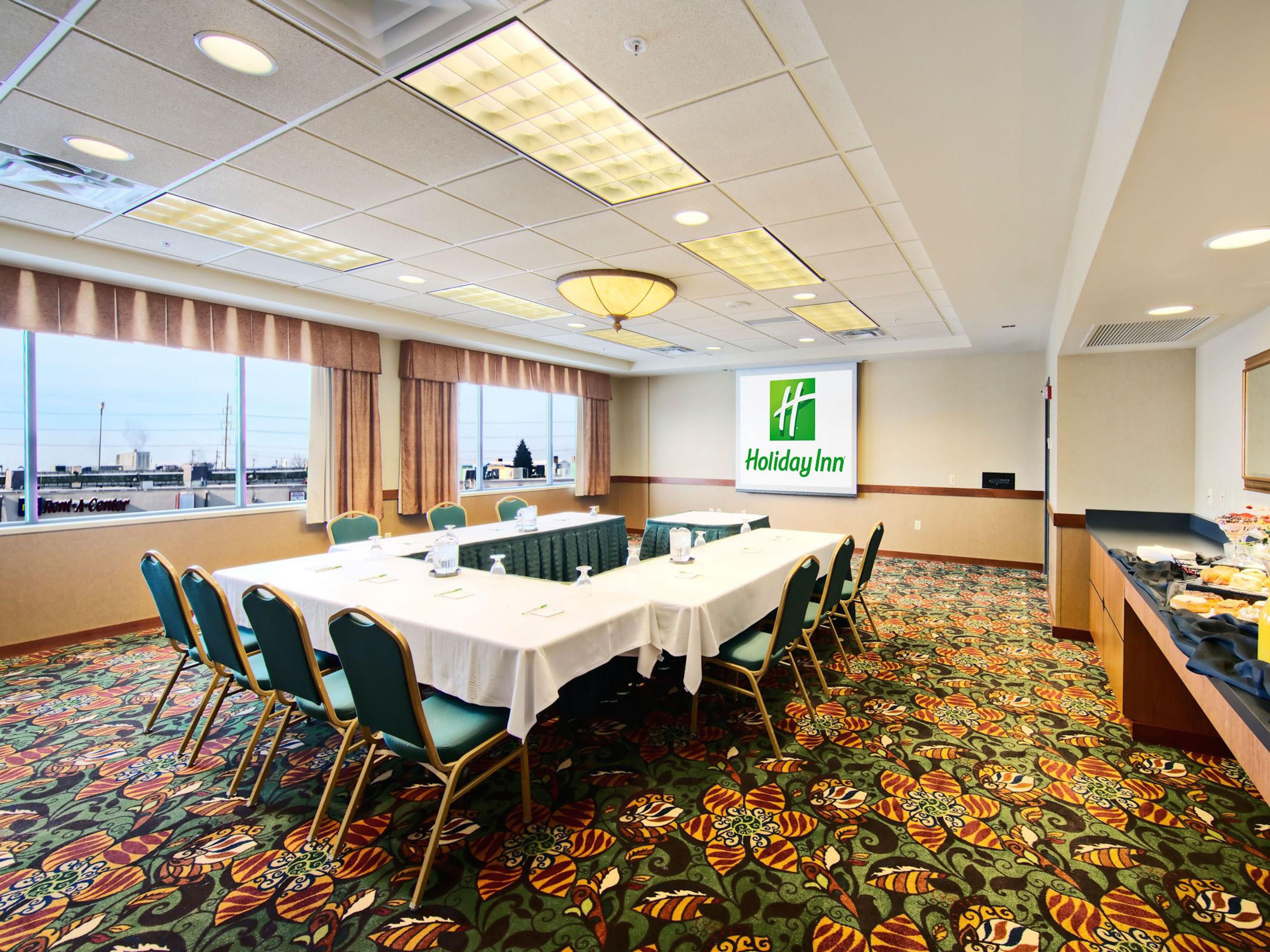 Great location for business meetings.