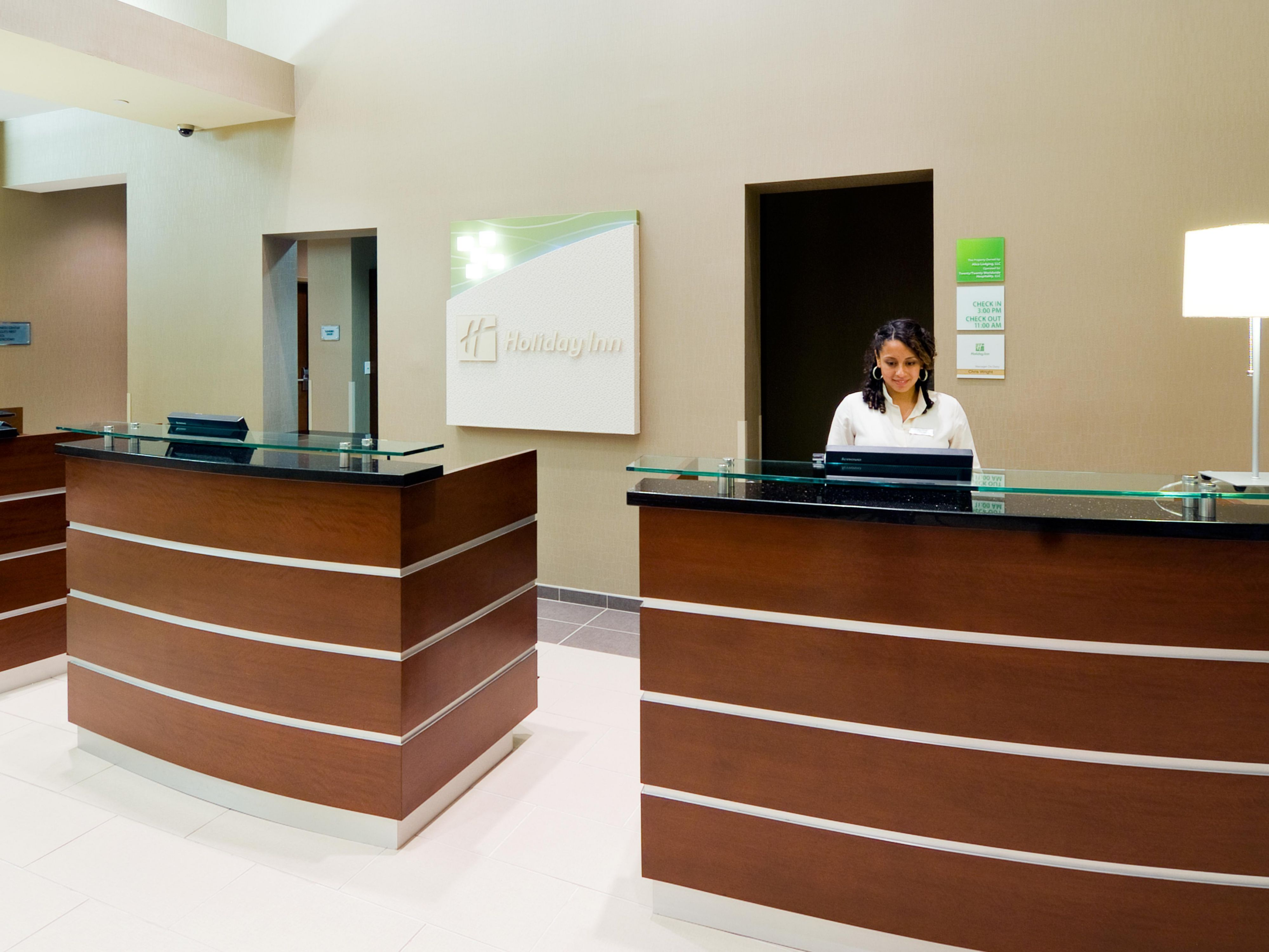 Hotel Lobby Front Desk