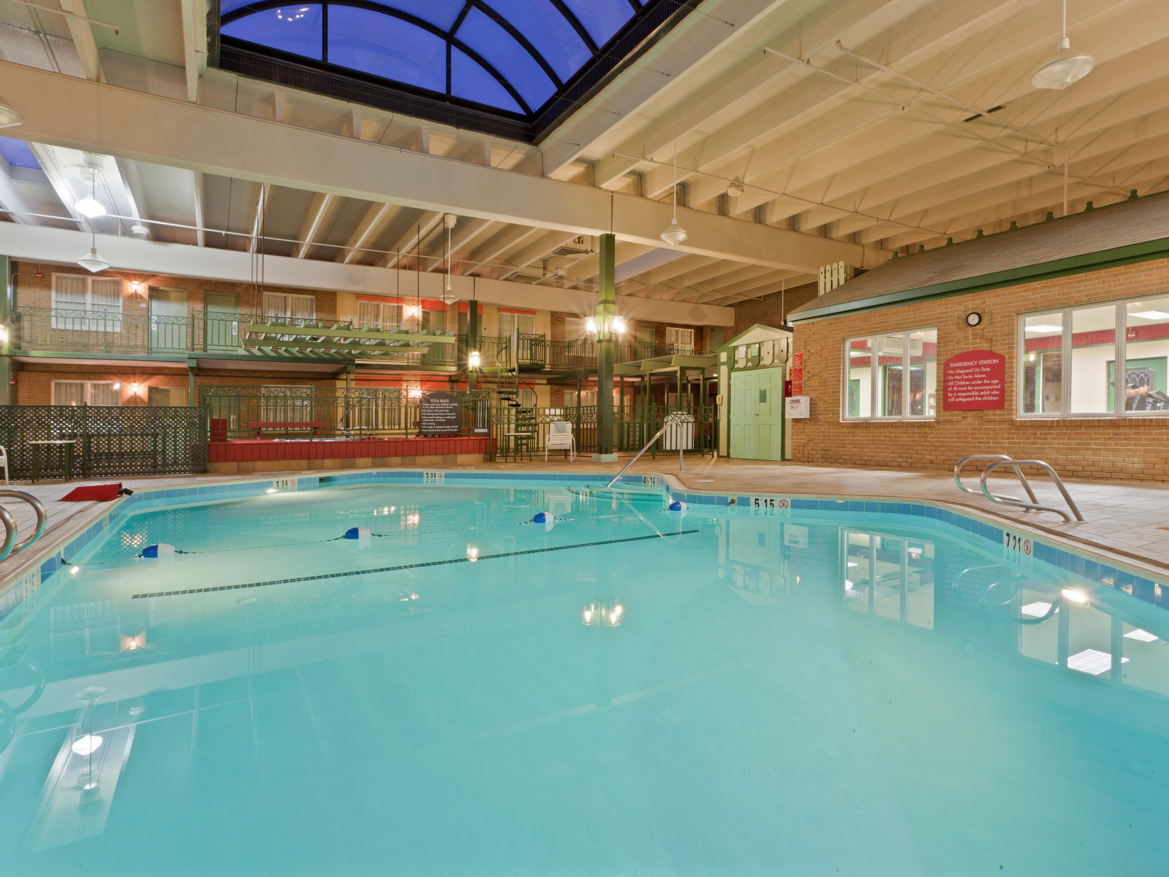 Swimming Pool and Exercise room
