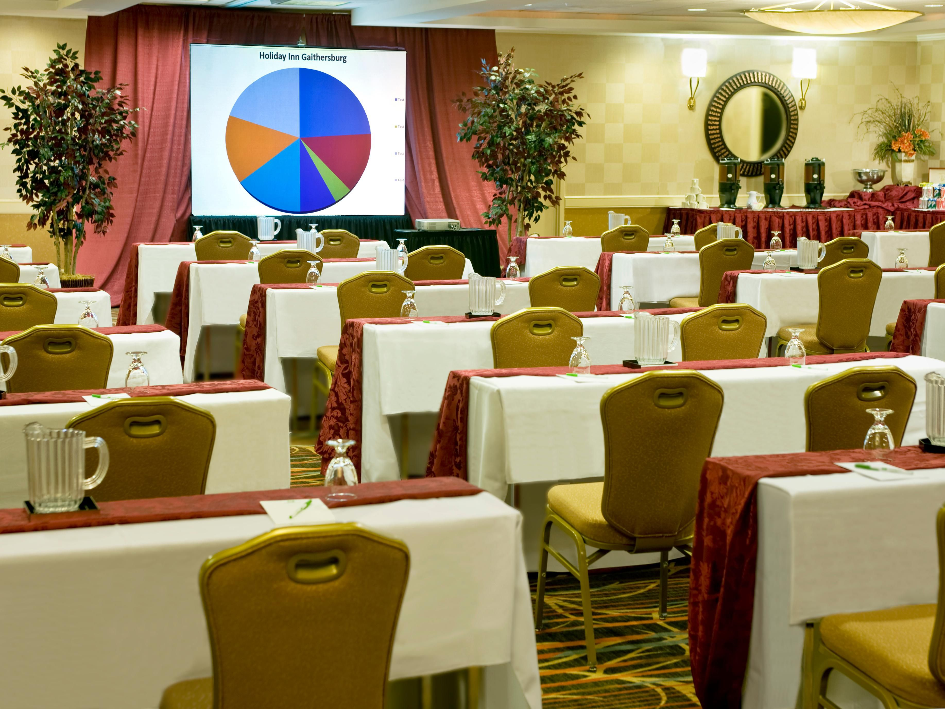 Hold your next event in our well appointed meeting/event space!