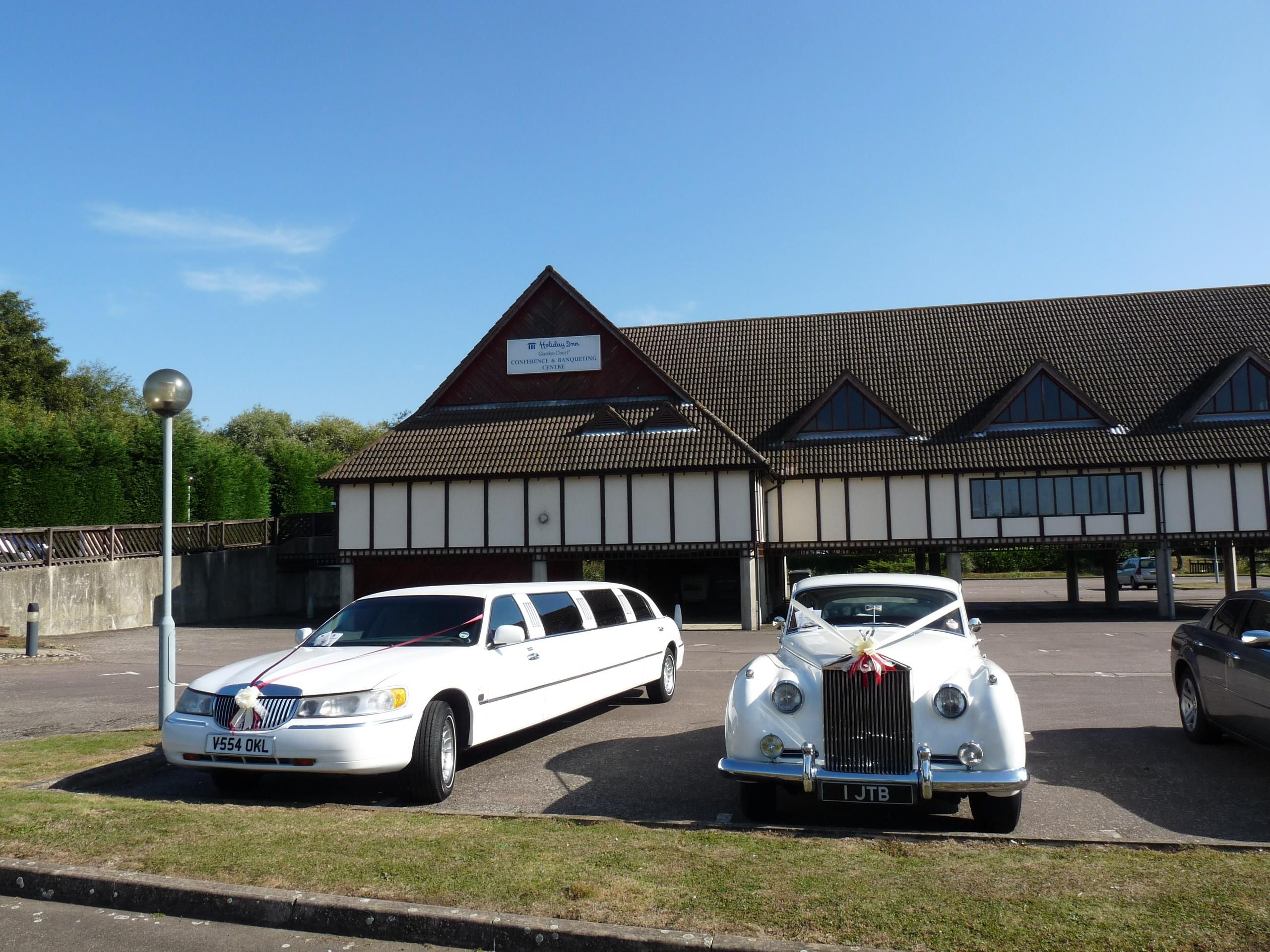 Wedding Cars outside Function Suite