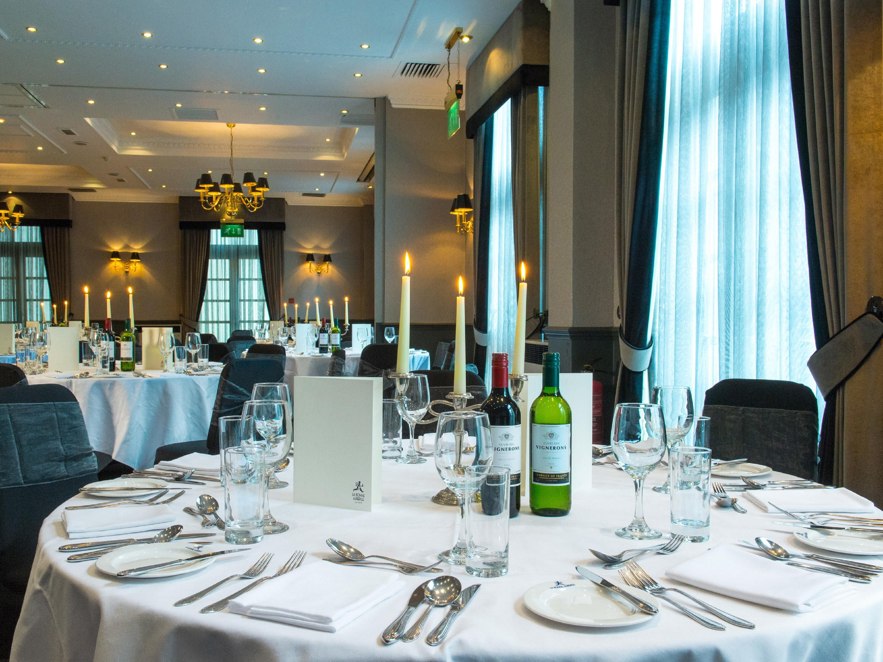 Banqueting and Private Dining available at Holiday Inn Theatreland