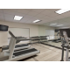 Work up a sweat in our 24 Hour Fitness Center