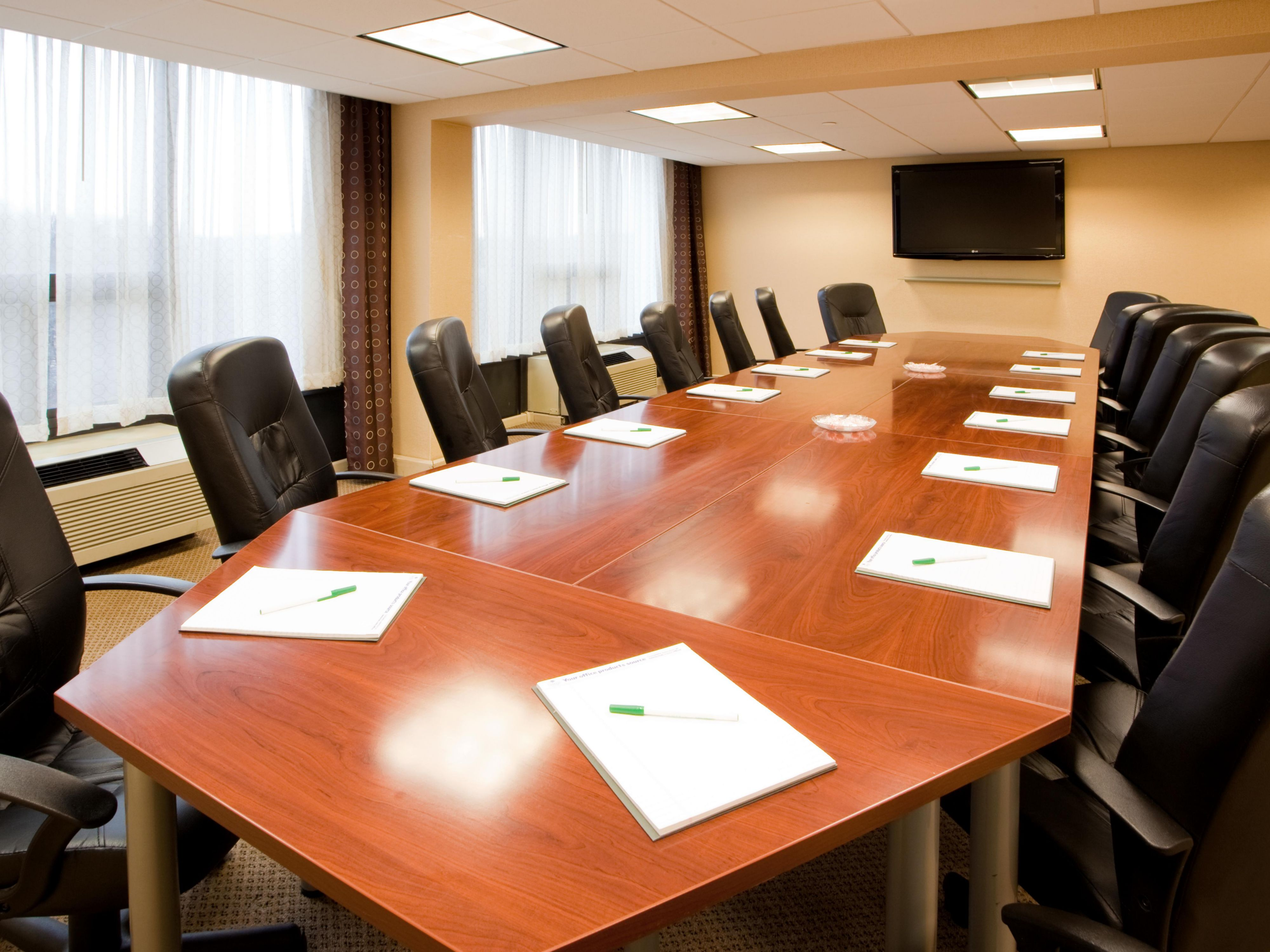 Our state of the art Boardroom will keep your needs met