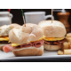 Breakfast sliders served at the Holiday Inn New Orleans Westbank