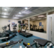 The gym is open daily 6 am - 22 pm