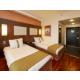 Standard twin bed rooms with wooden floor