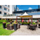 Enjoy the summer days at our patio